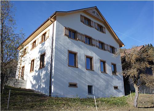 漆喰の家の写真