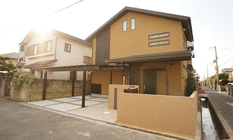 岸和田の和風住宅